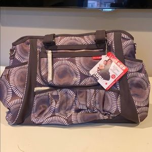 Brand new with tags slip hop diaper bag